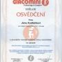 Certifikát Giacomini