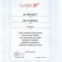 Certifikát HotJet