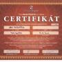 Certifikát MasterTherm