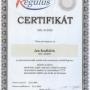 Certifikat Regulus 2010